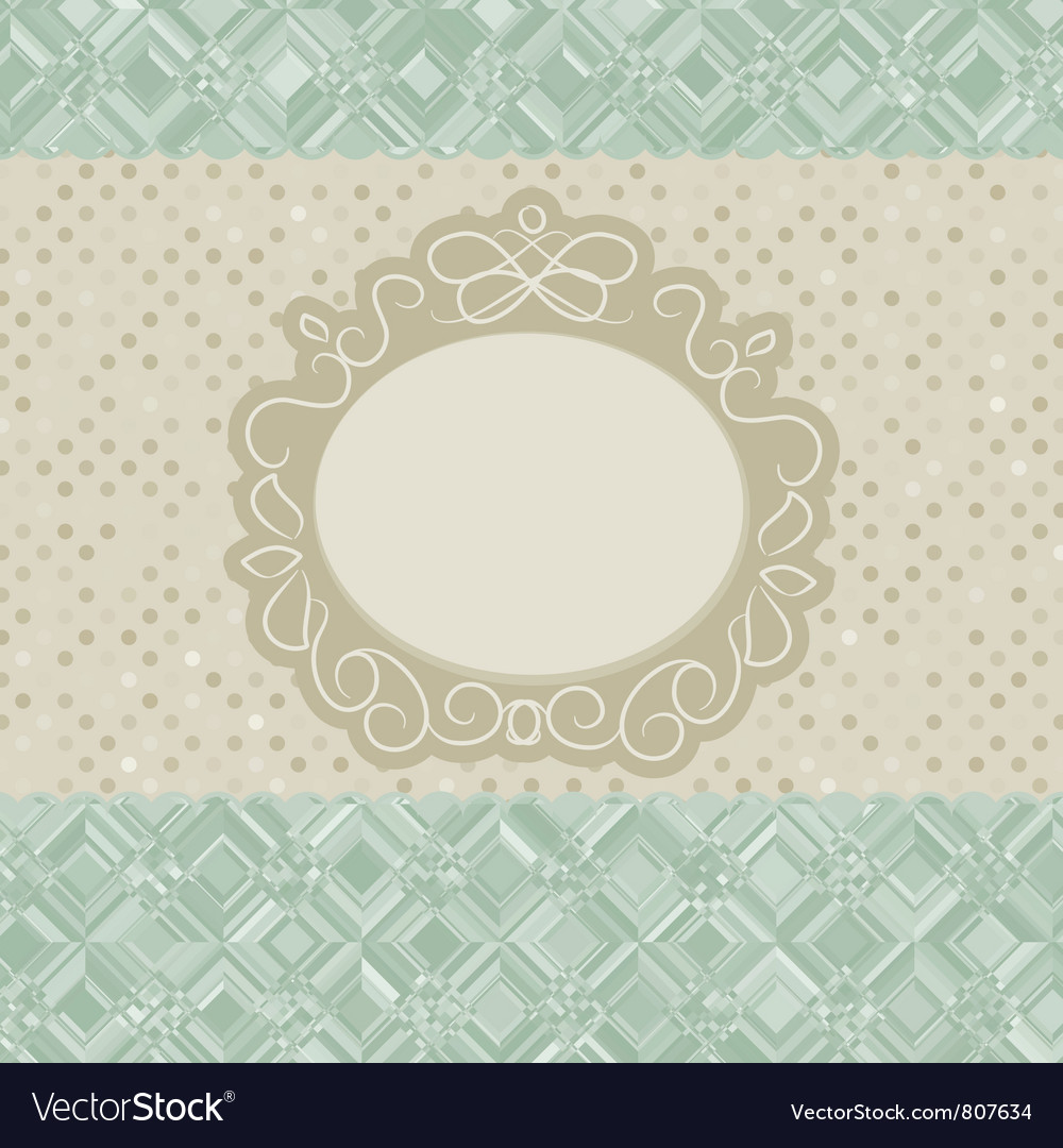 Beige vintage card vector | Price: 1 Credit (USD $1)