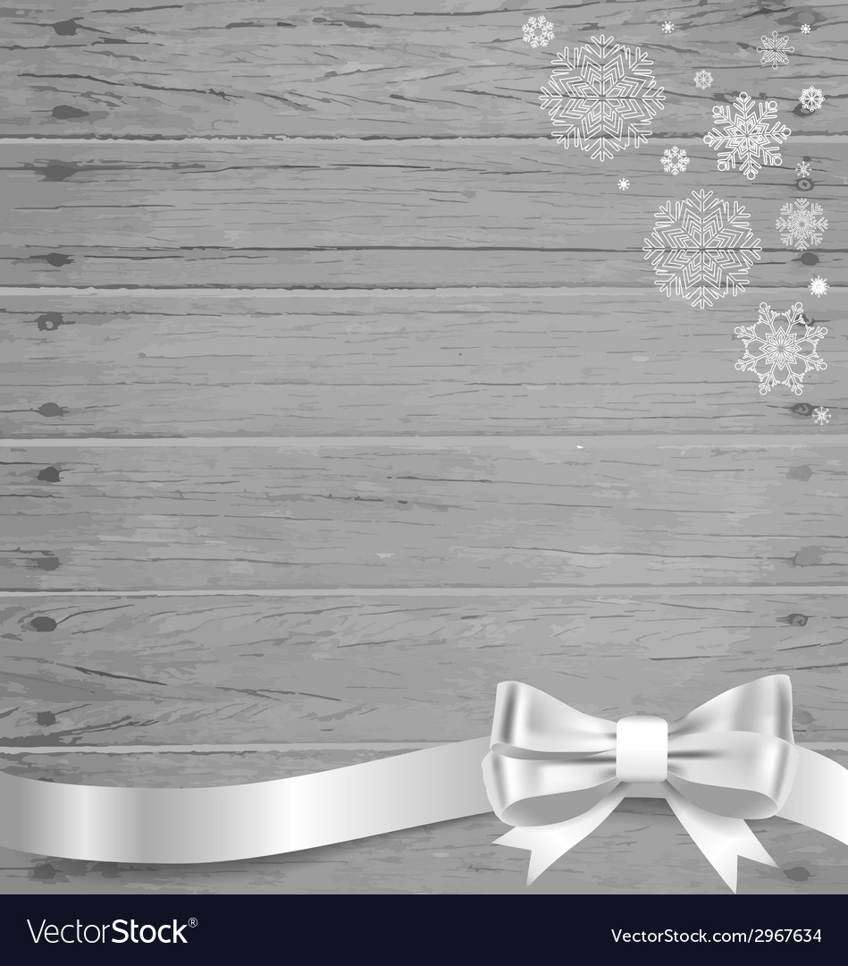Christmas background with gift bows and ribbons vector | Price: 1 Credit (USD $1)