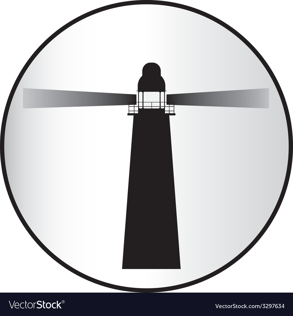 Lighthouse vector | Price: 1 Credit (USD $1)