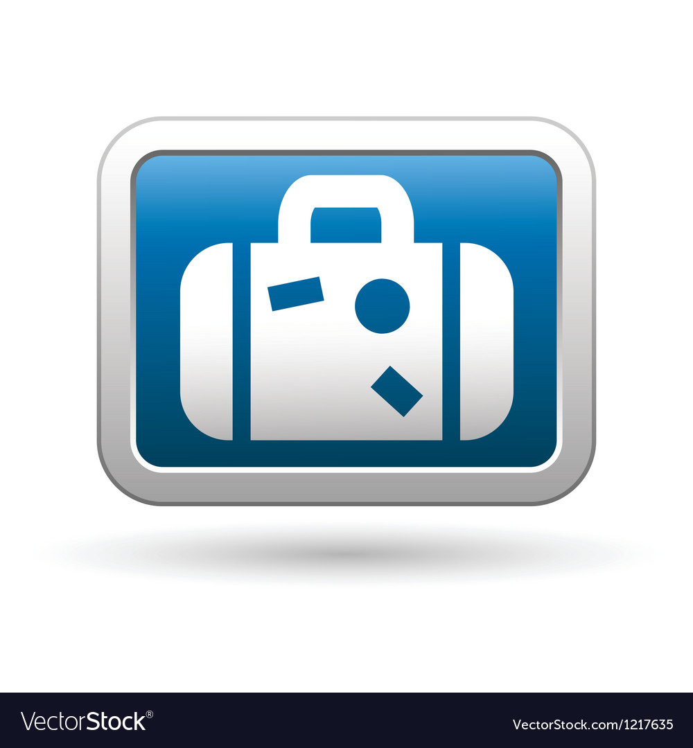 Suitcase icon vector | Price: 1 Credit (USD $1)