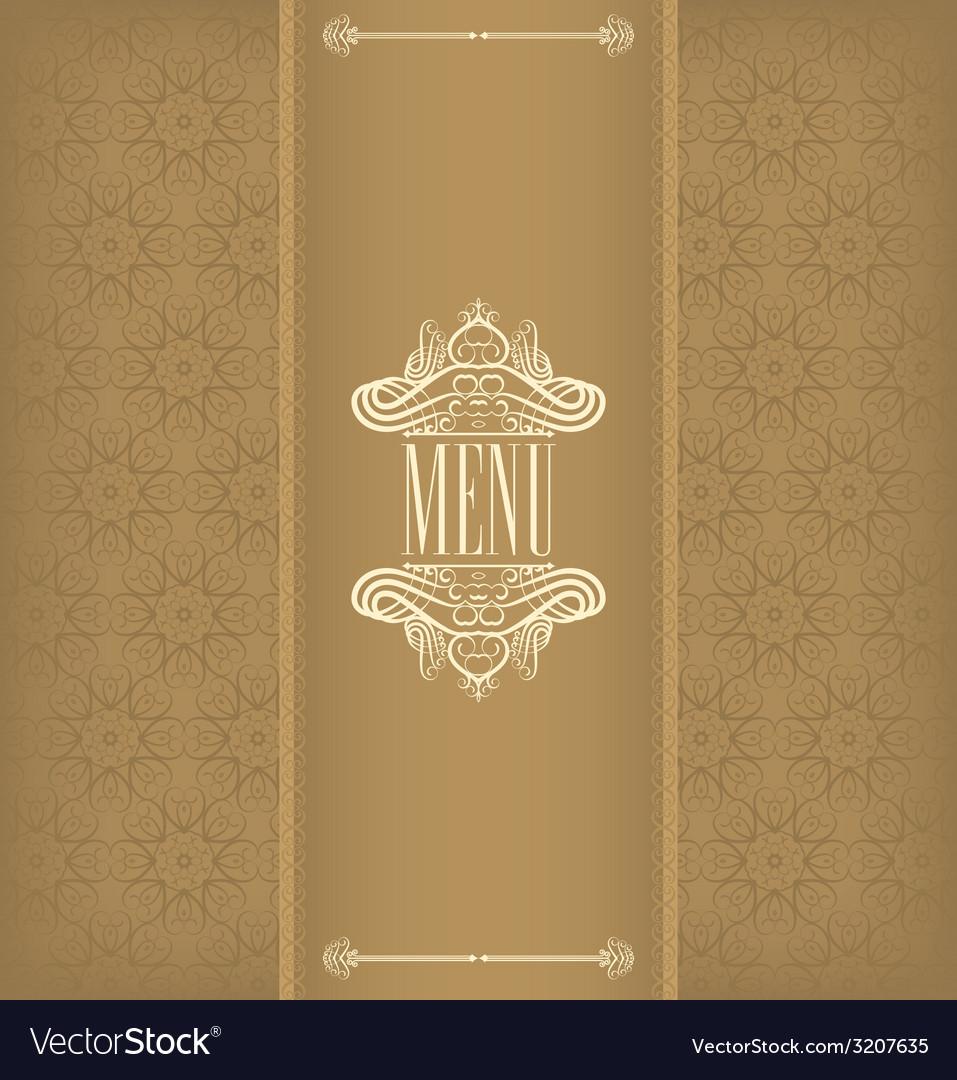 Vintage design menu vector | Price: 1 Credit (USD $1)
