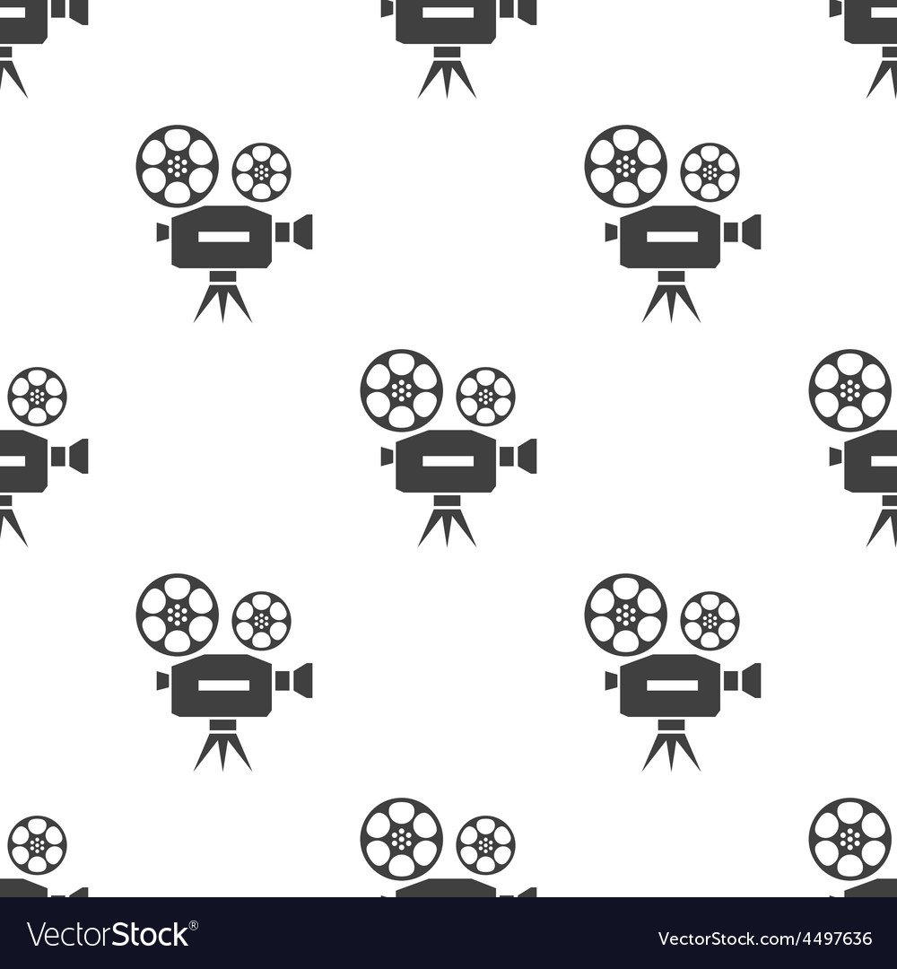Video seamless pattern vector | Price: 1 Credit (USD $1)