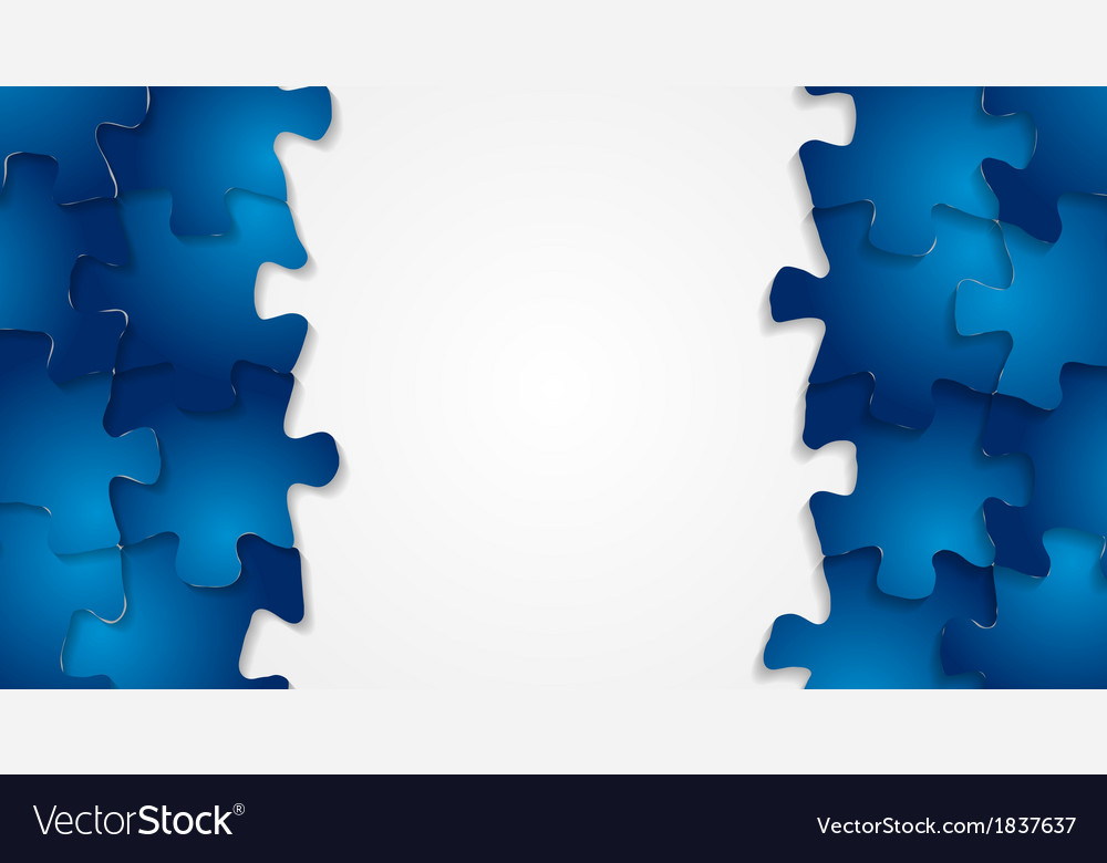 Bright technology puzzle background vector | Price: 1 Credit (USD $1)