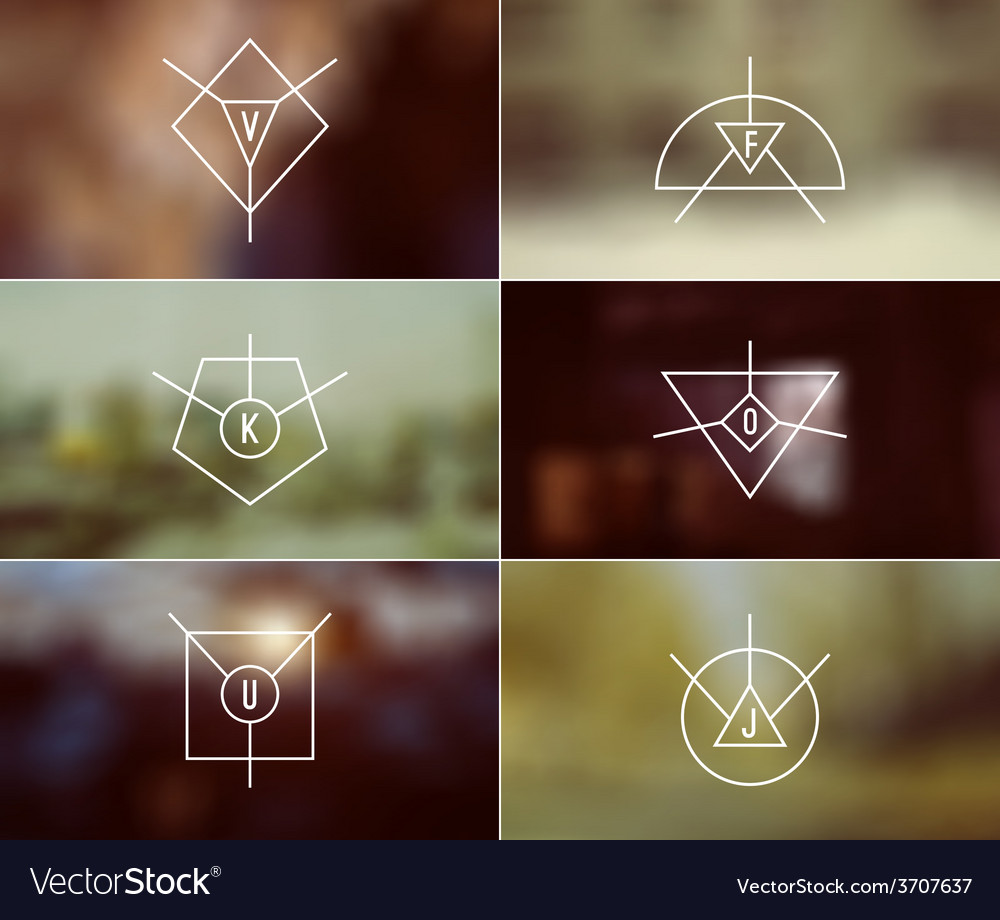 Set of trendy badges and card vector | Price: 1 Credit (USD $1)