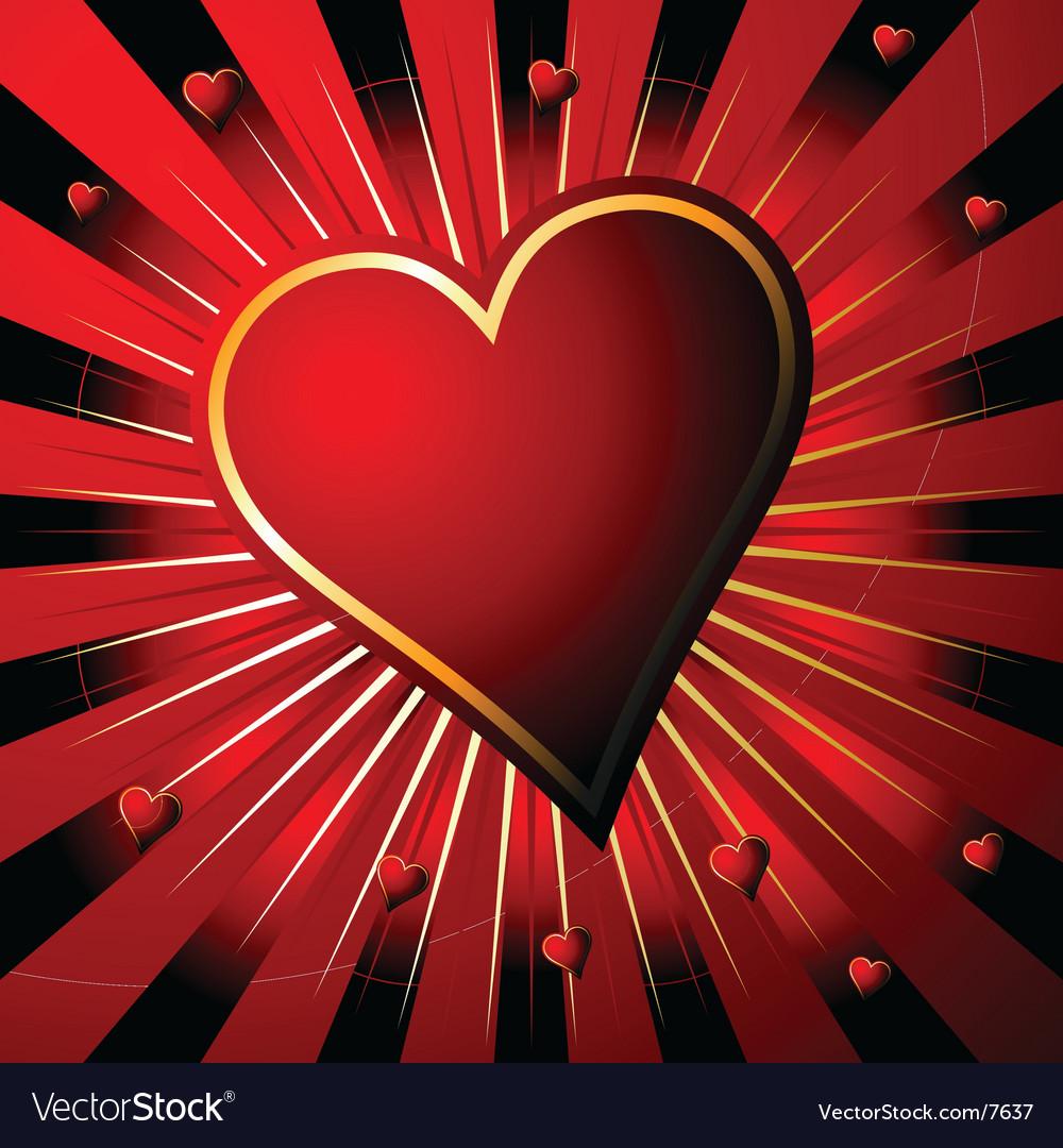 Valentine's background vector | Price: 1 Credit (USD $1)