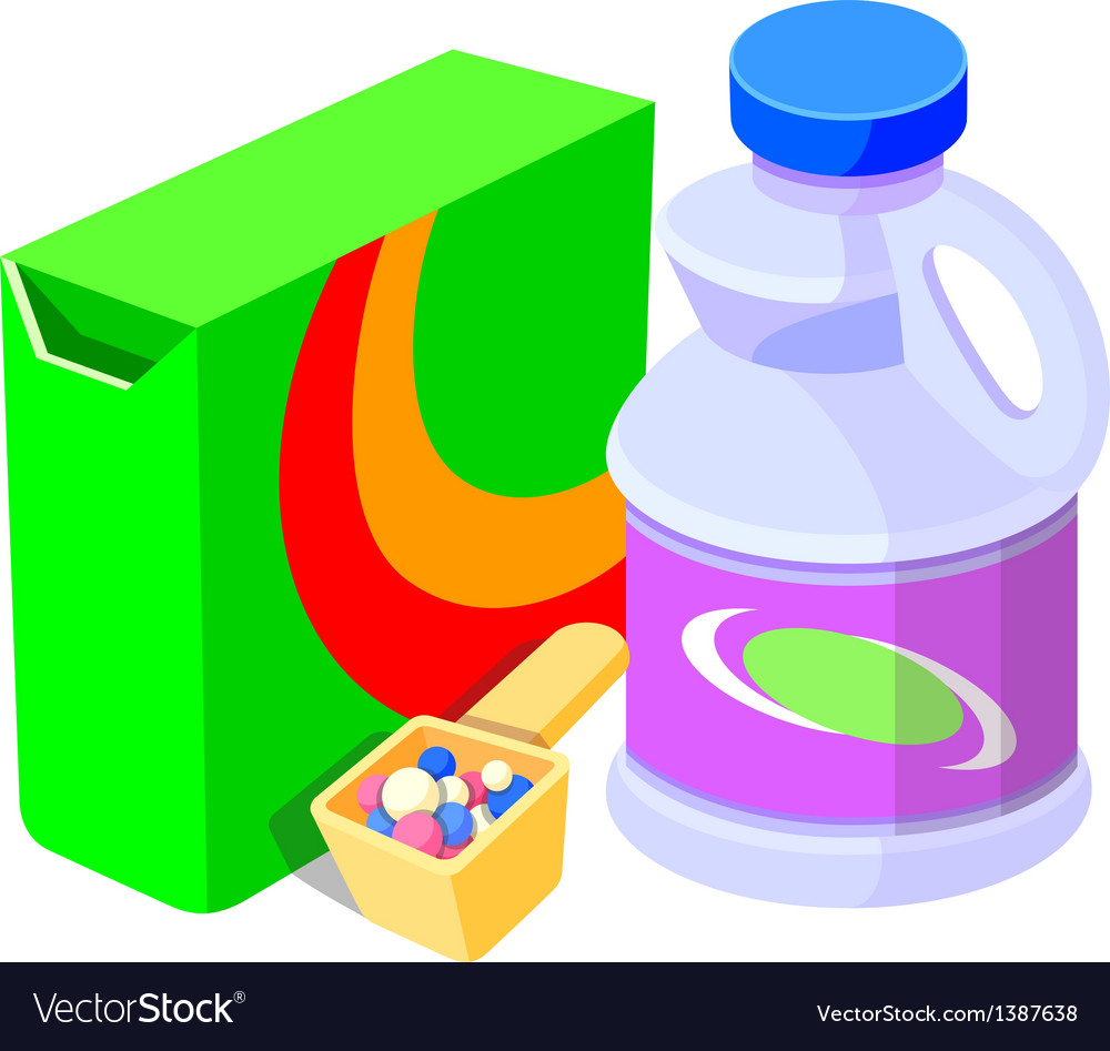 Icon laundry soap vector | Price: 1 Credit (USD $1)