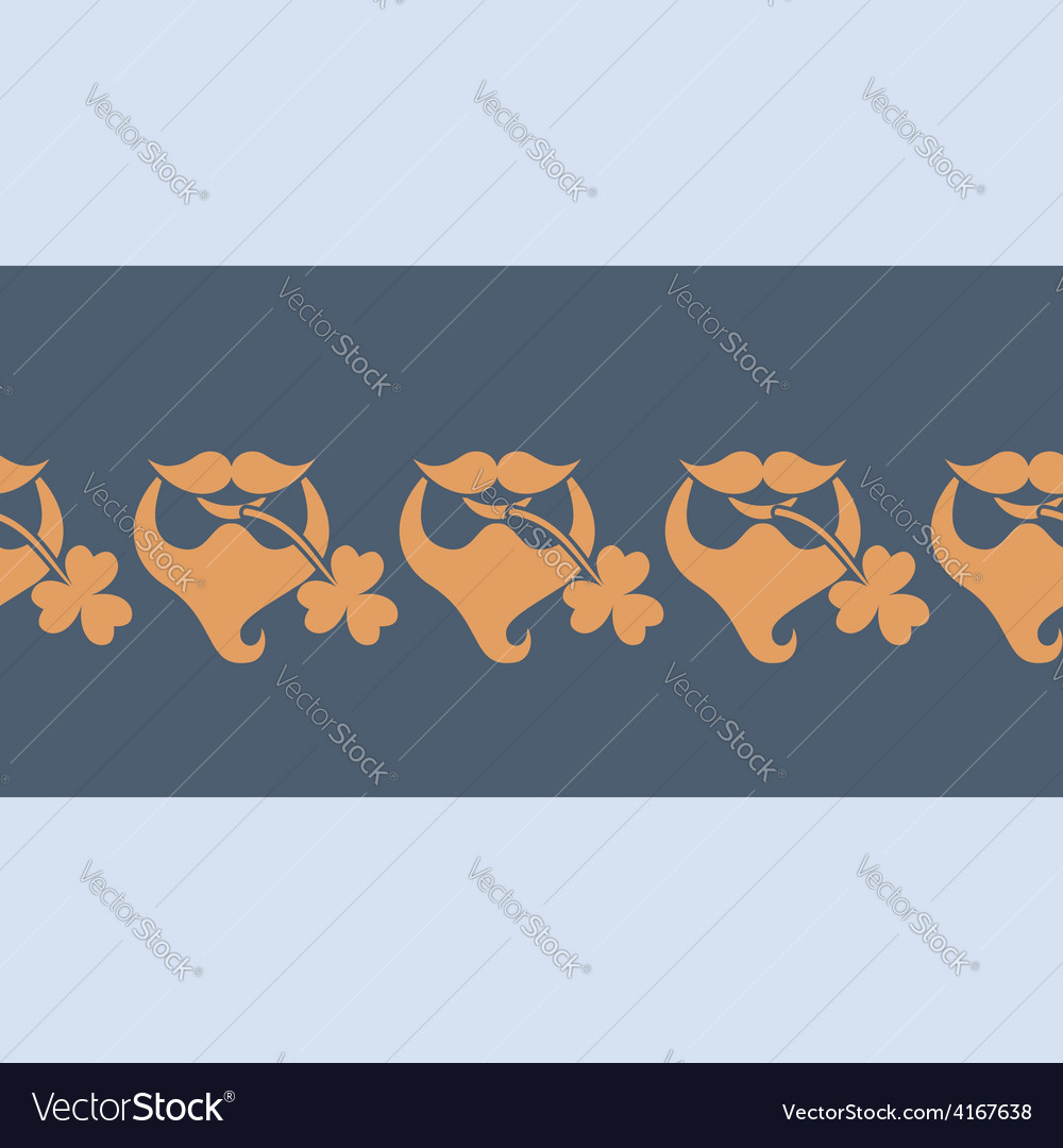 Saint patricks day icon vector | Price: 1 Credit (USD $1)