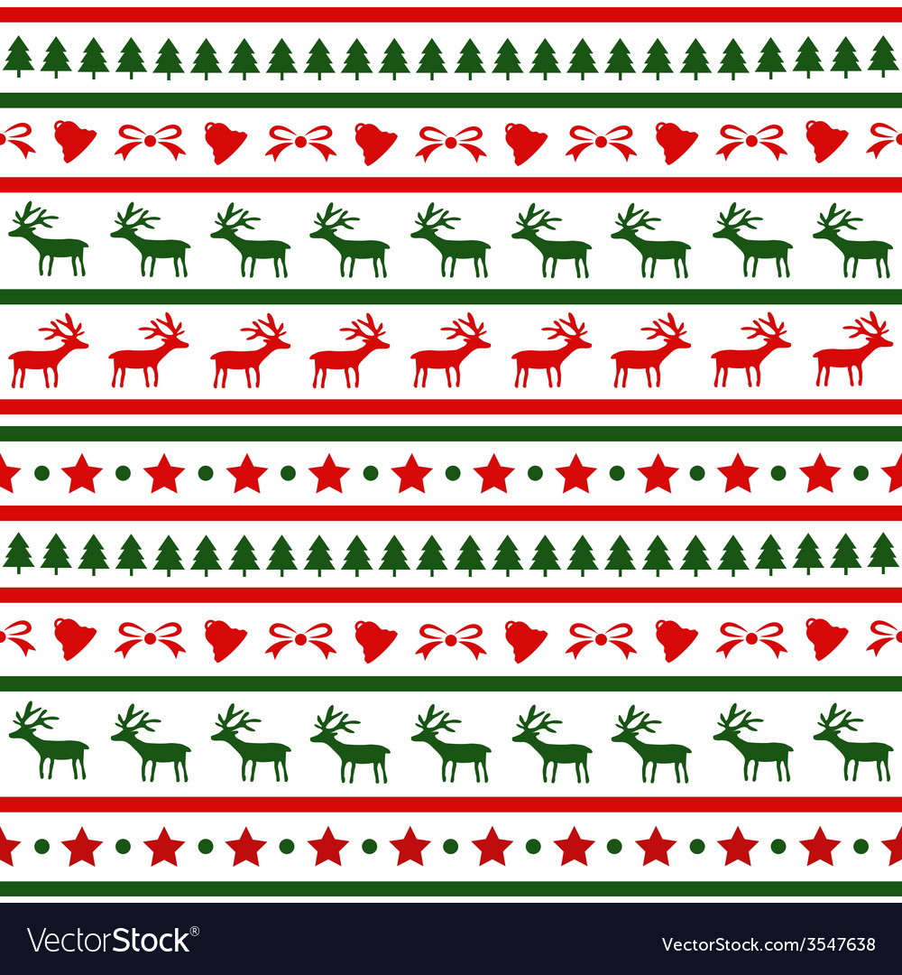 Seamless christmas background22 vector | Price: 1 Credit (USD $1)