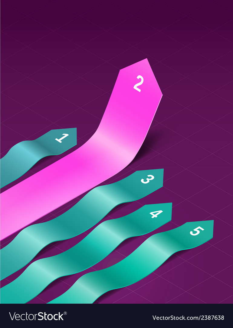 Wavy arrows vector | Price: 1 Credit (USD $1)