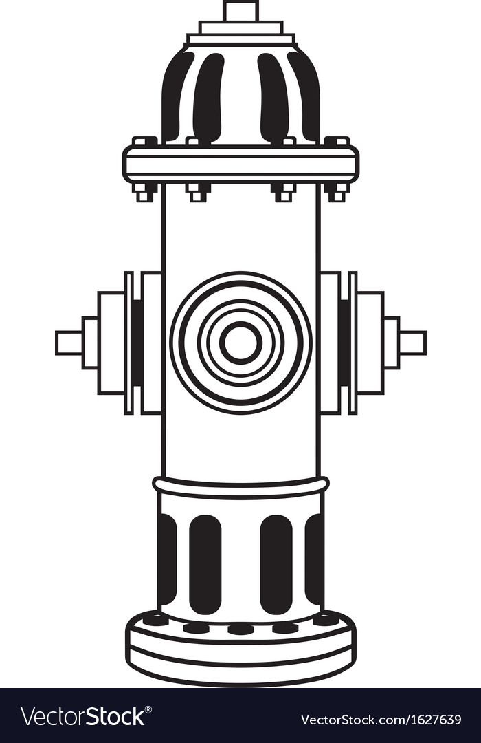 Fire hydrant vector | Price: 1 Credit (USD $1)