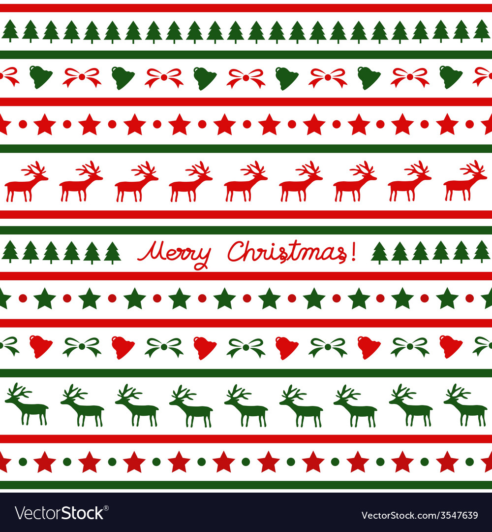 Seamless christmas background23 vector | Price: 1 Credit (USD $1)