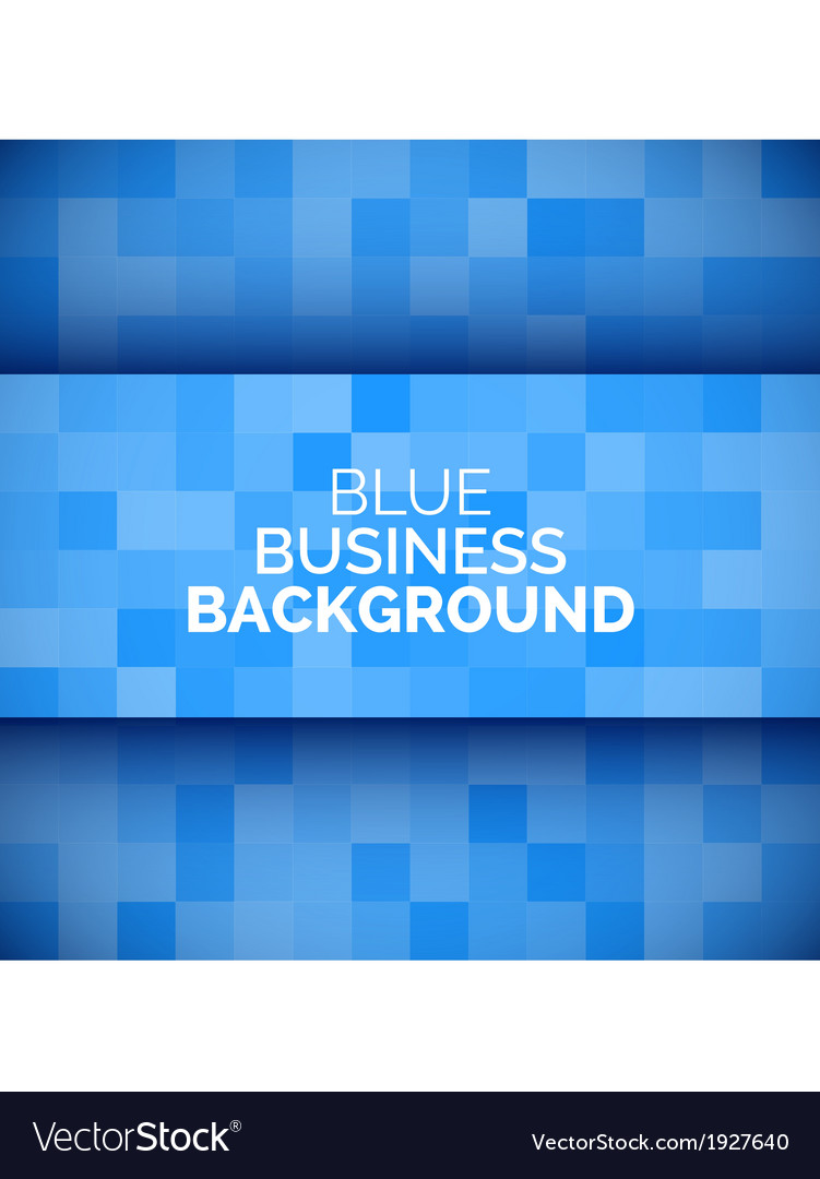 Abstract 3d business blue background vector | Price: 1 Credit (USD $1)