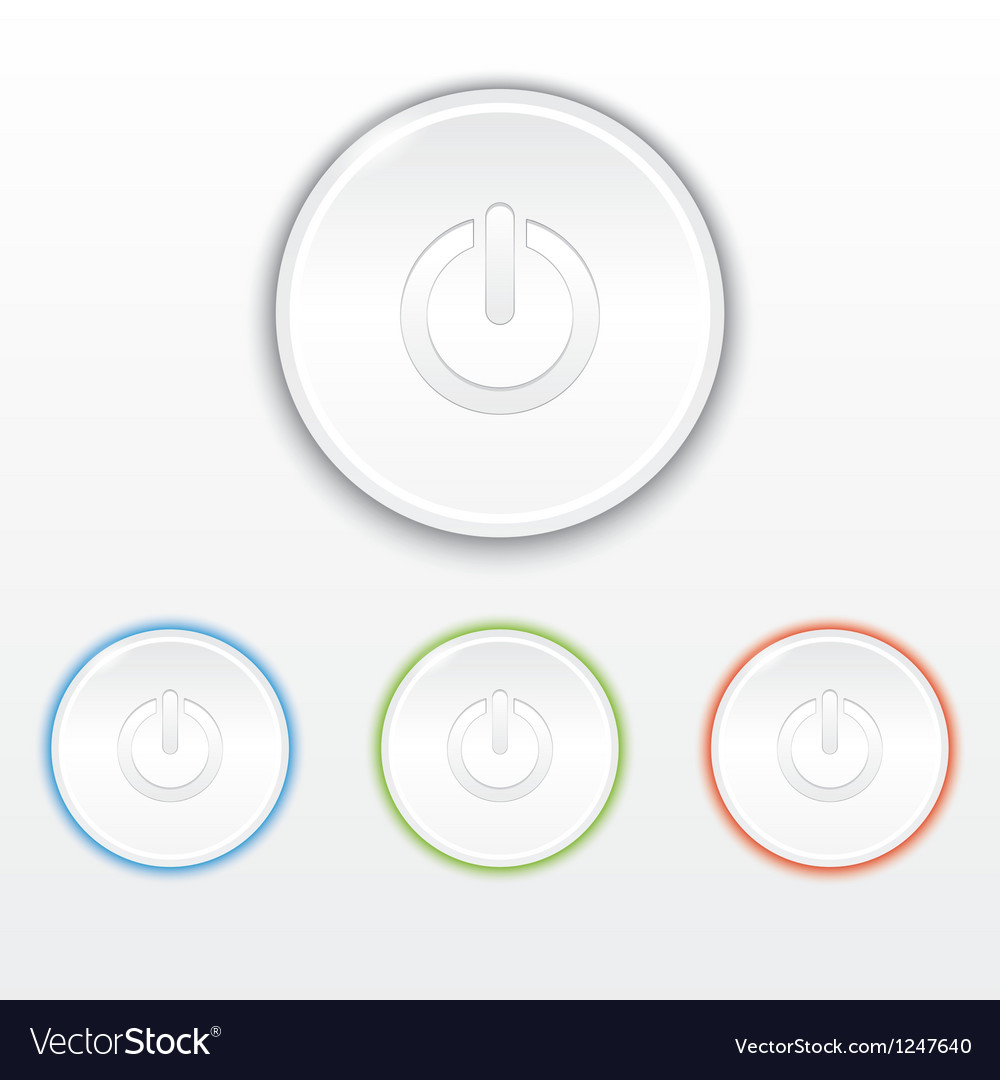 Set of buttons vector   Price: 1 Credit (USD $1)