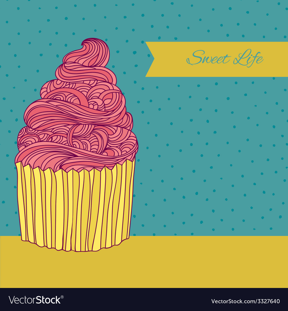 Sweet card vector | Price: 1 Credit (USD $1)