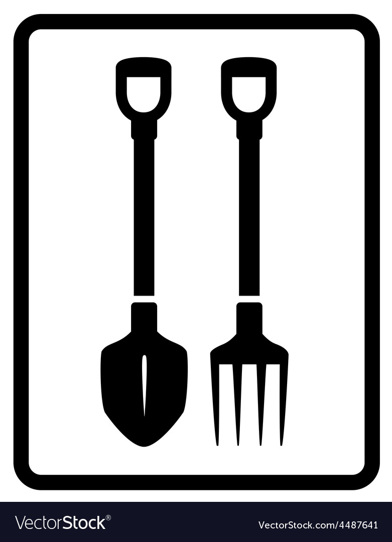 Garden tools silhouette vector | Price: 1 Credit (USD $1)