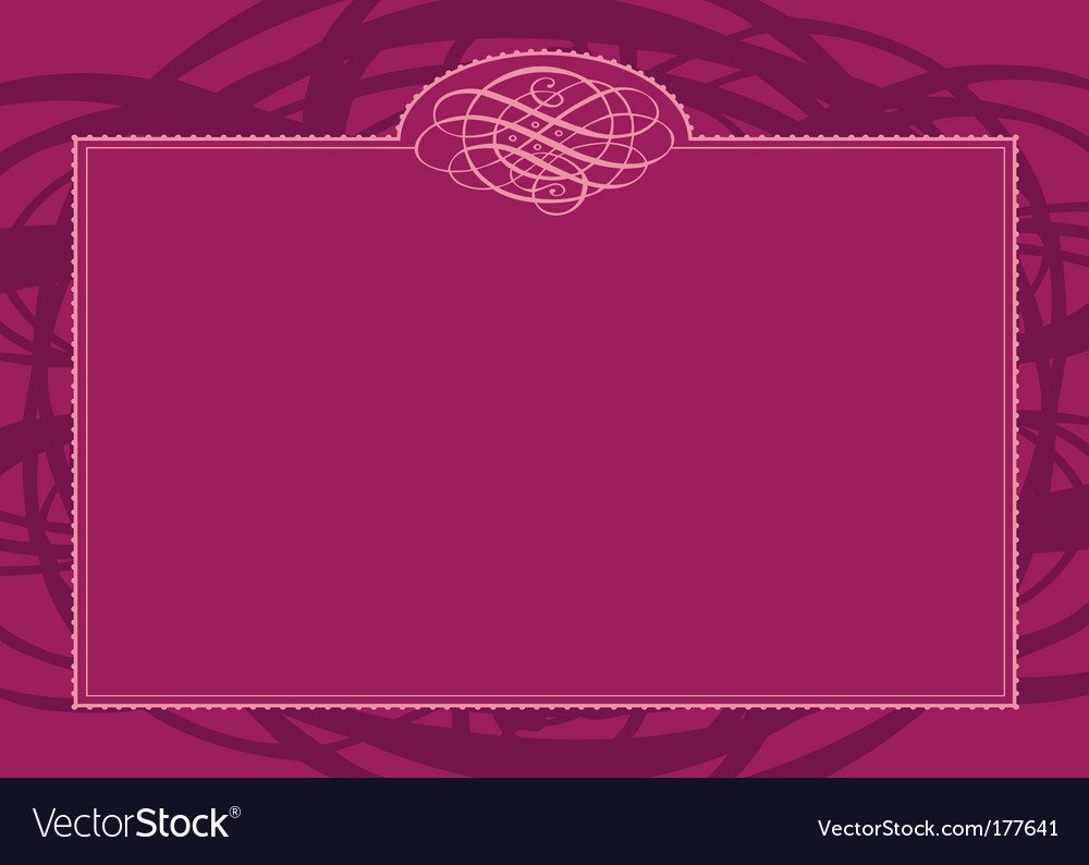 Swirl border and frame vector | Price: 1 Credit (USD $1)