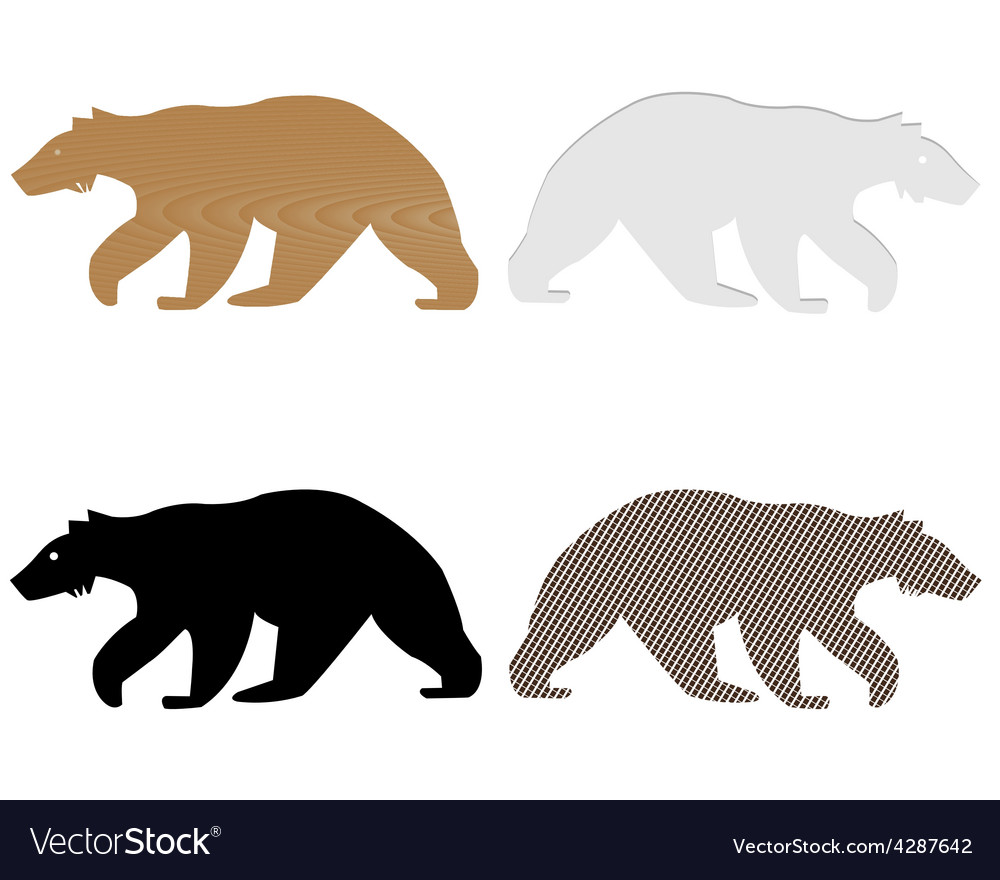 Bears vector | Price: 1 Credit (USD $1)