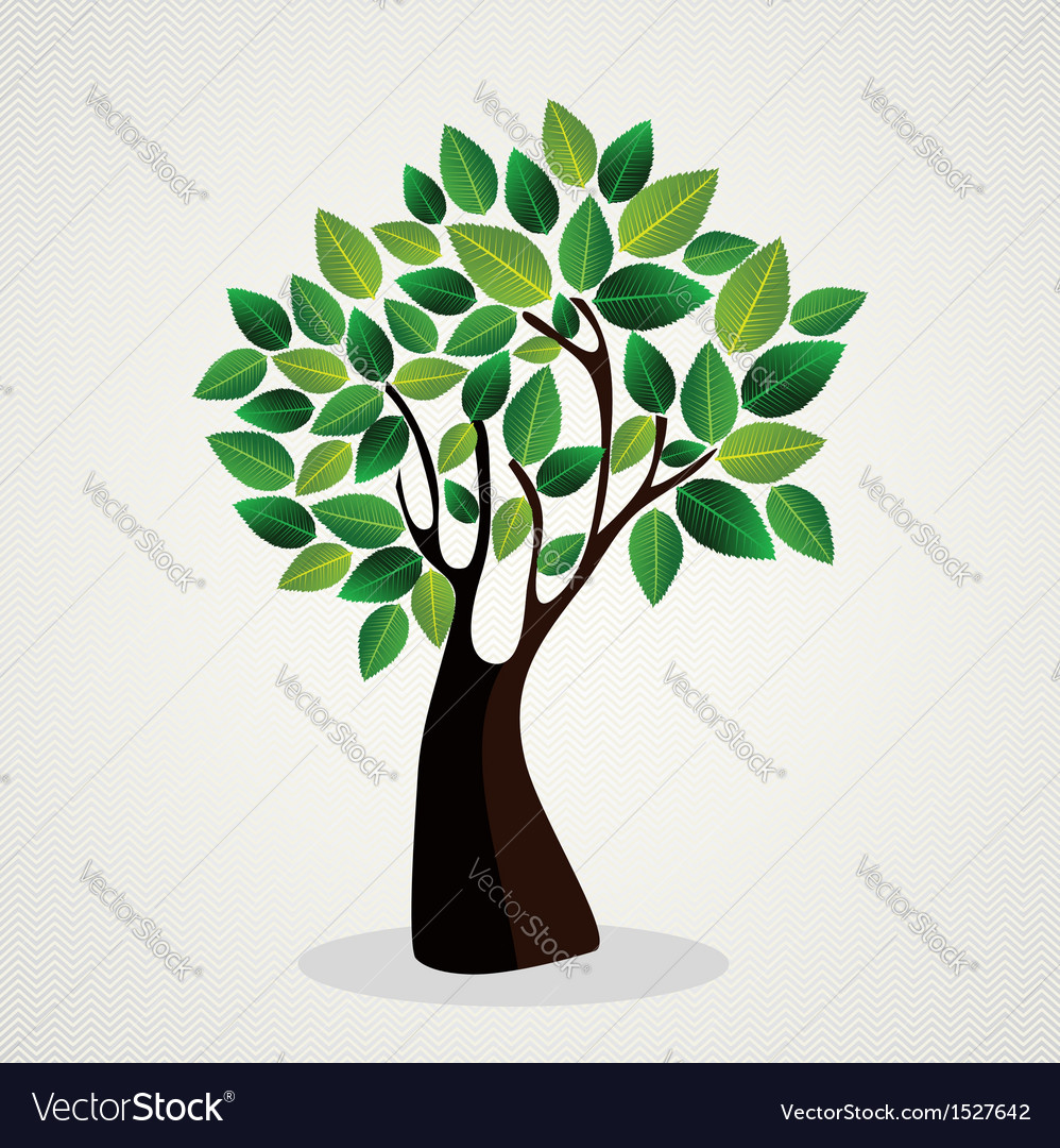 Cute tree hand drawn vector | Price: 1 Credit (USD $1)