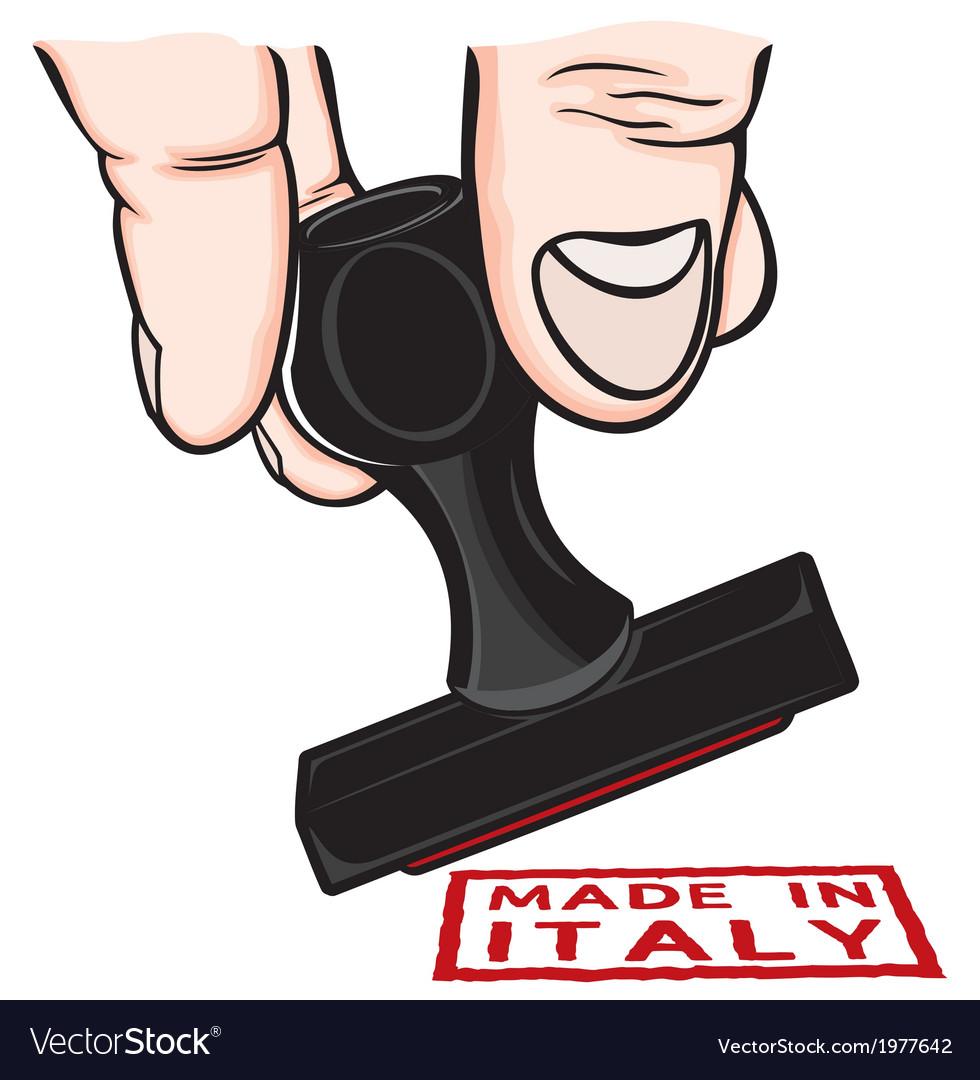 Lupam pecat italy vector | Price: 1 Credit (USD $1)