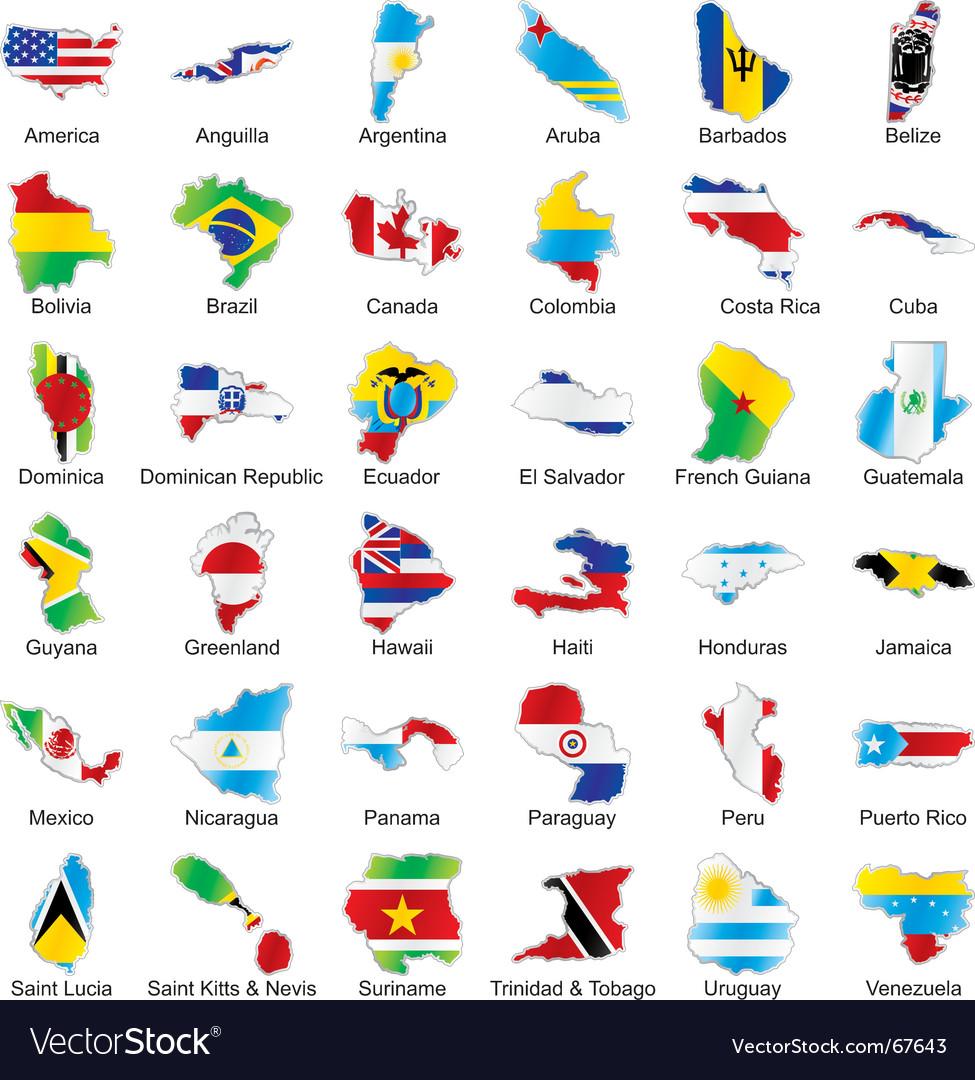 America maps vector   Price: 1 Credit (USD $1)