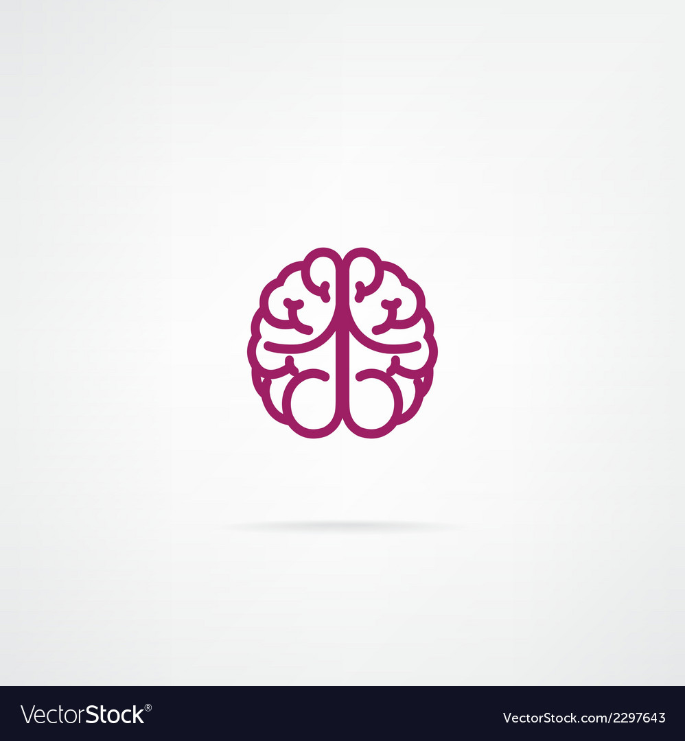 Brain sign vector | Price: 1 Credit (USD $1)