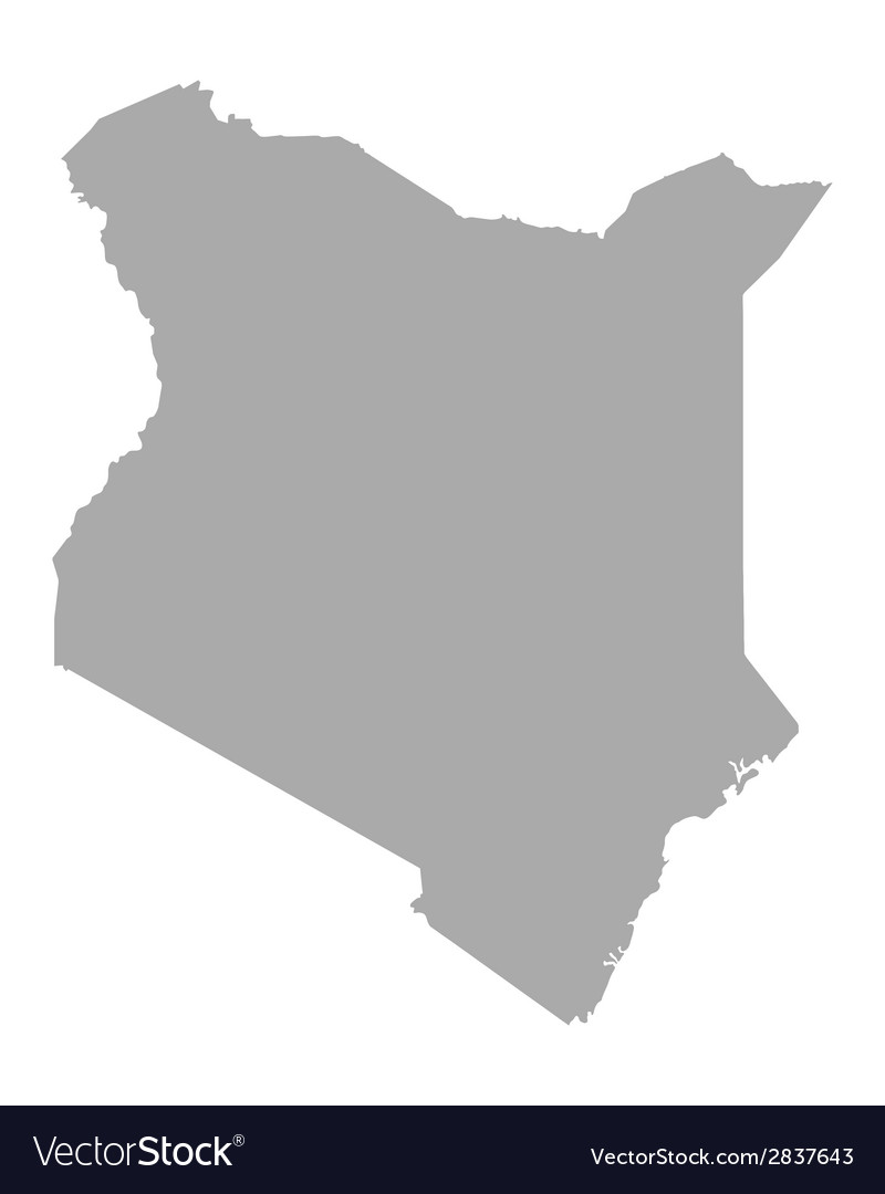 Map of kenya vector | Price: 1 Credit (USD $1)