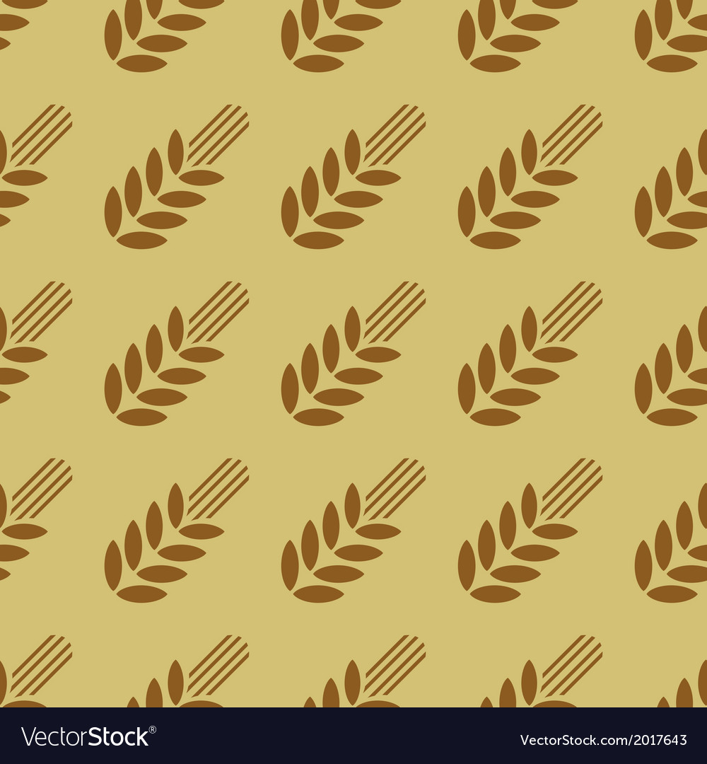 Seamless pattern with cereals2 vector | Price: 1 Credit (USD $1)