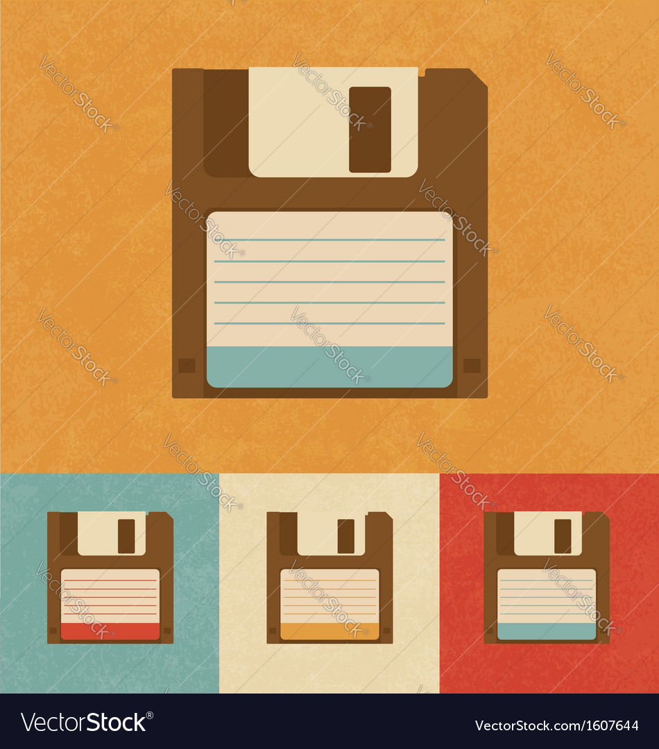 Floppy disk drive vector | Price: 1 Credit (USD $1)