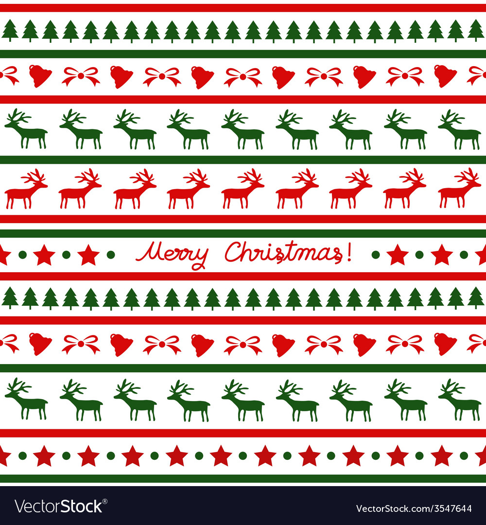 Seamless christmas background24 vector | Price: 1 Credit (USD $1)