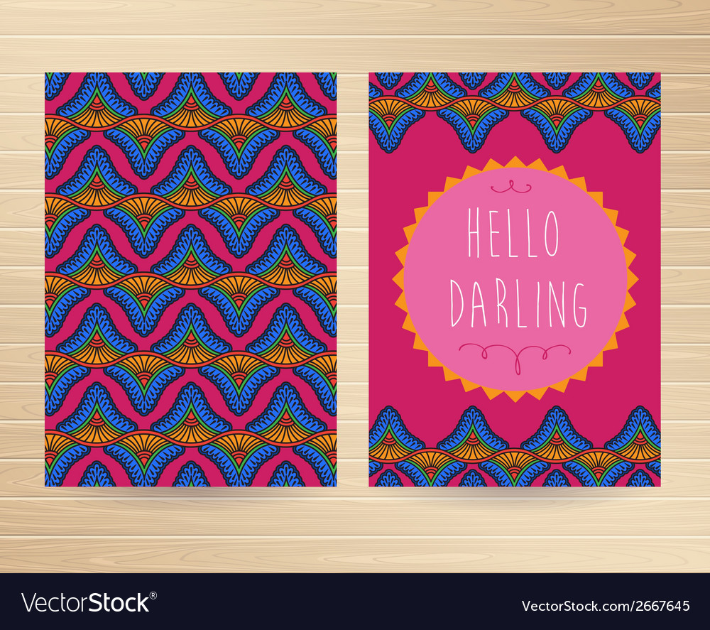 Decorative cards vector | Price: 1 Credit (USD $1)