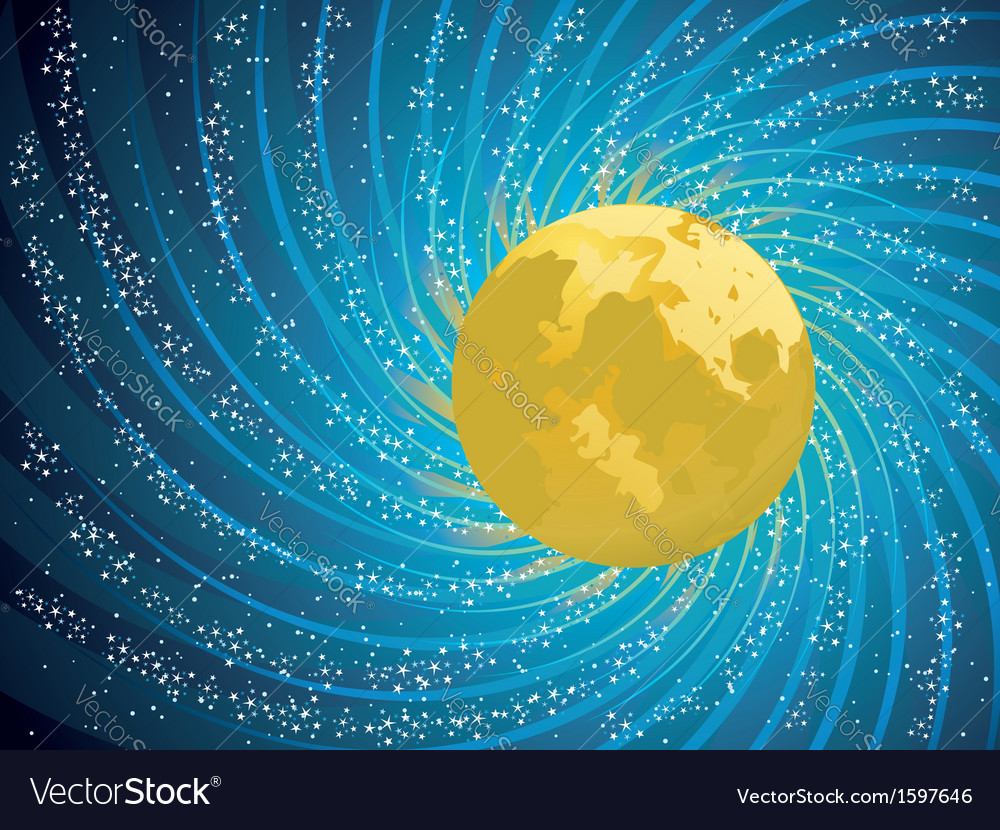 Abstract night sky vector   Price: 1 Credit (USD $1)