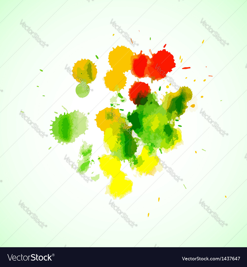 Colorful abstract watercolor backgrounds for your vector | Price: 1 Credit (USD $1)