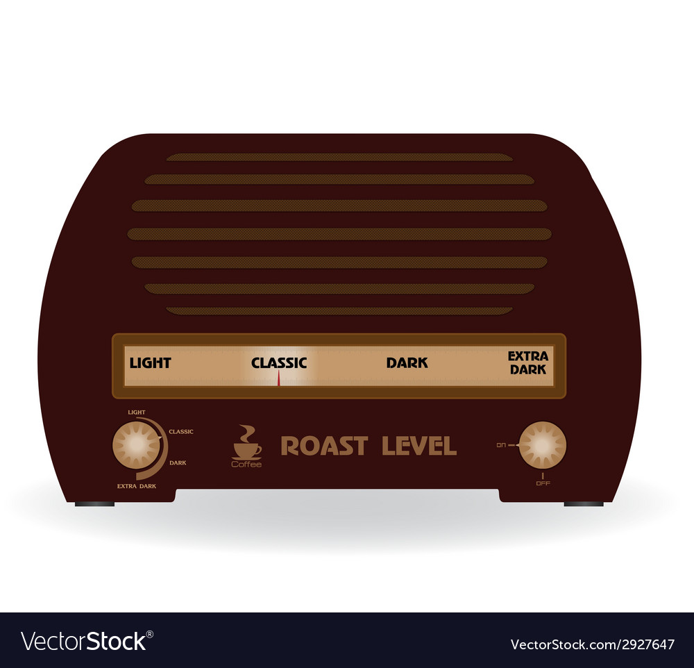 Level of coffee the radio vector | Price: 1 Credit (USD $1)