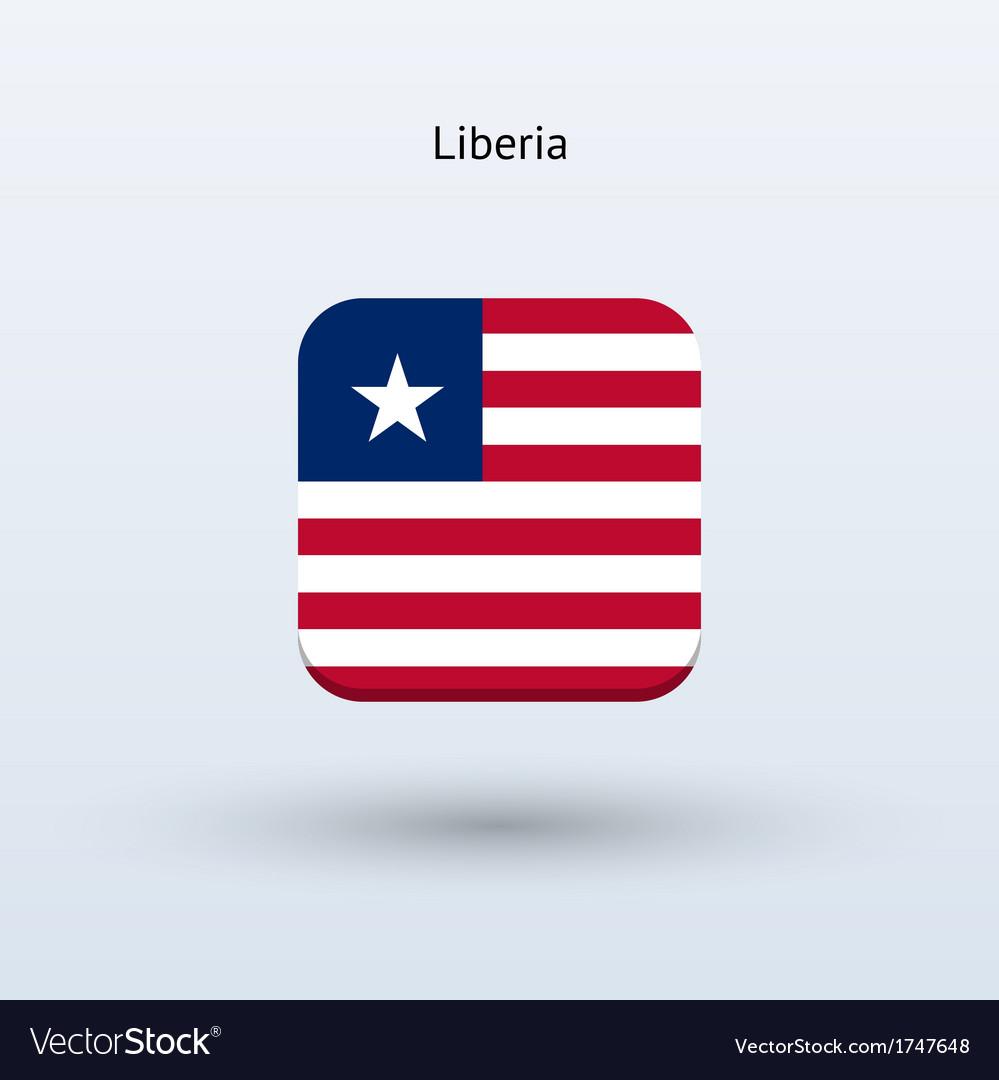 Liberia flag icon vector | Price: 1 Credit (USD $1)