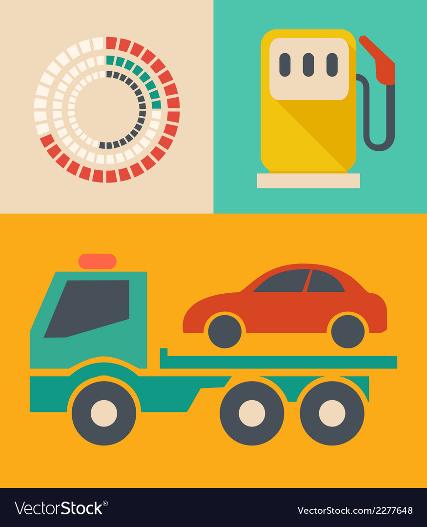 Transportation infographic elements vector | Price: 1 Credit (USD $1)