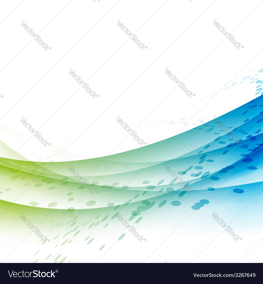 Bright abstract transparent waves background vector | Price: 1 Credit (USD $1)