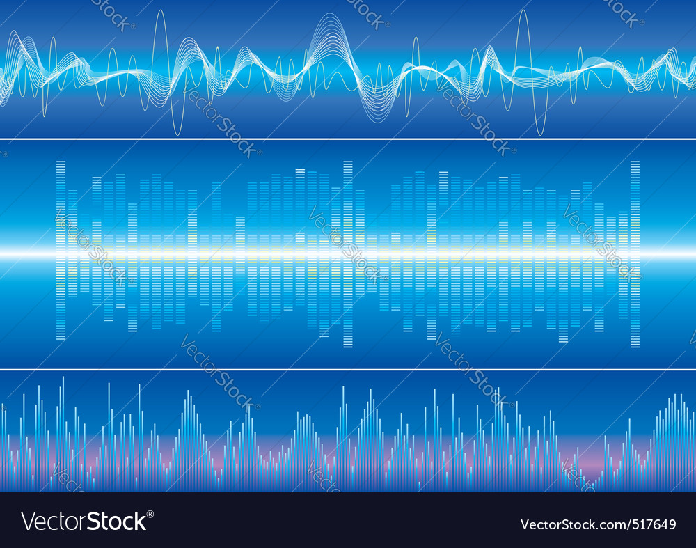 Sound wave vector | Price: 3 Credit (USD $3)