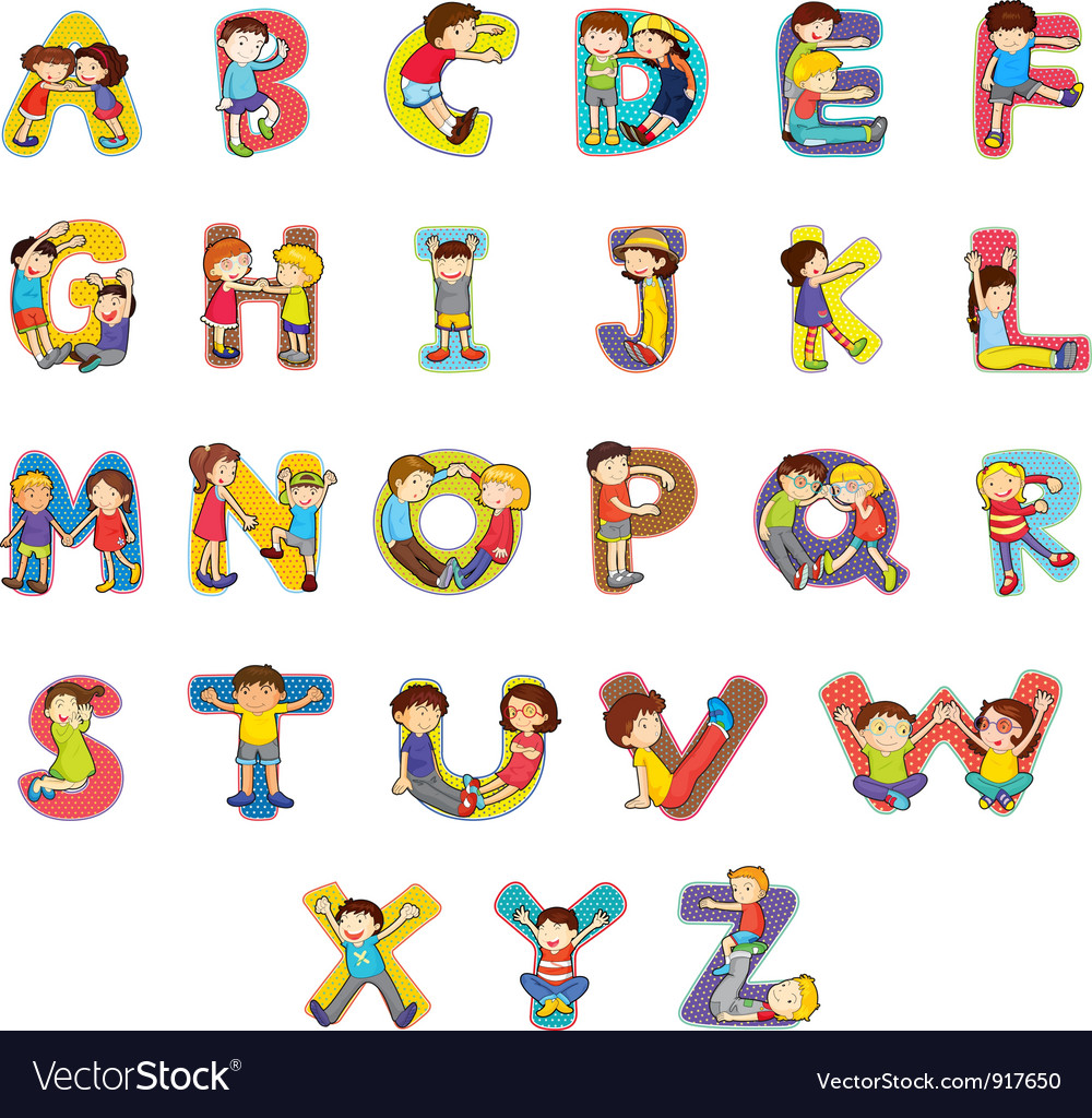 Alphabet vector | Price: 3 Credit (USD $3)