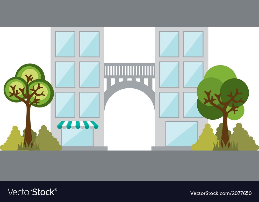Buildings design vector | Price: 1 Credit (USD $1)