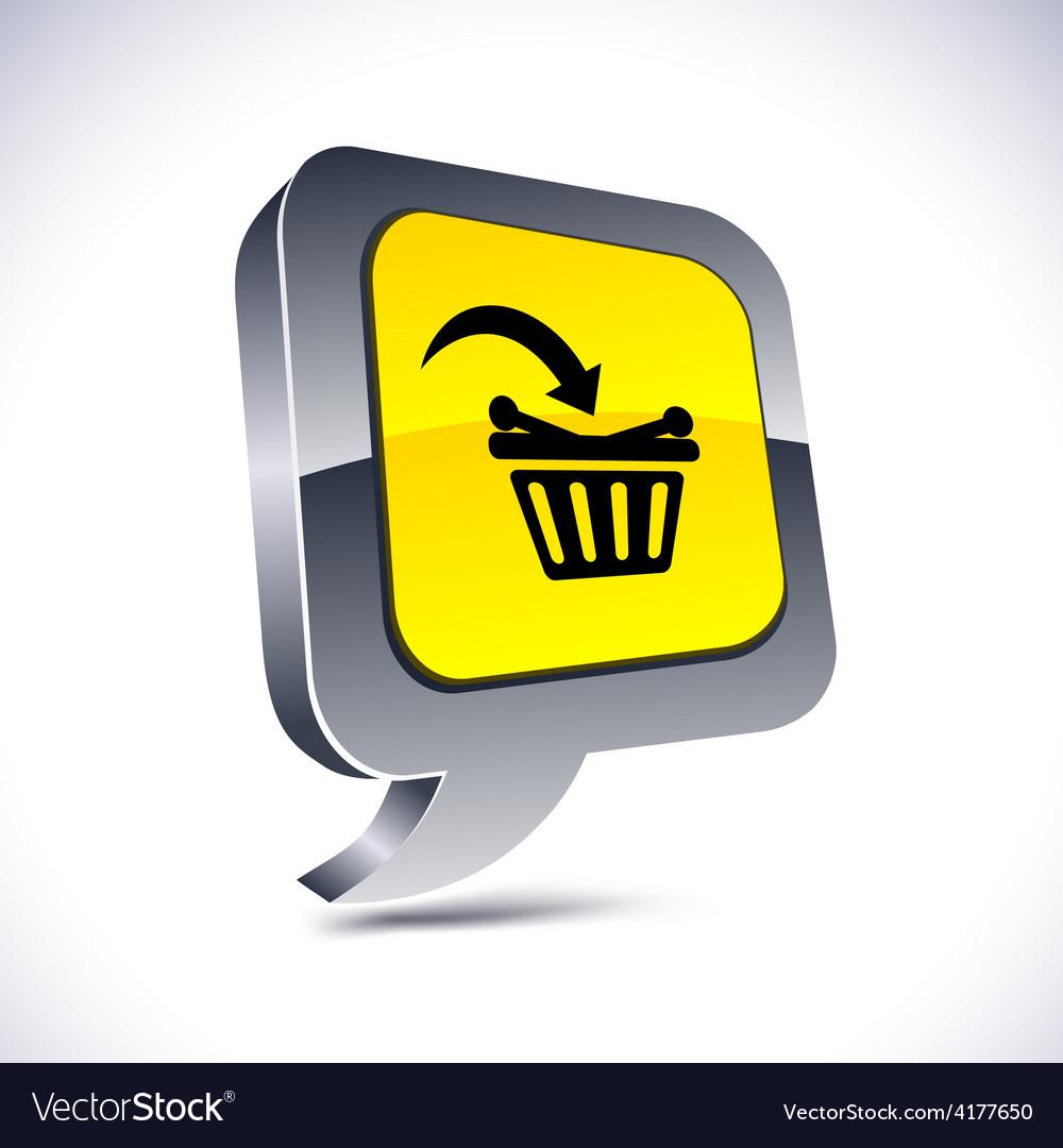 Buy 3d balloon button vector | Price: 1 Credit (USD $1)