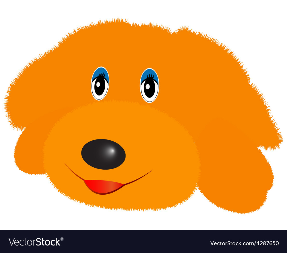 Doggy soft toy vector | Price: 1 Credit (USD $1)