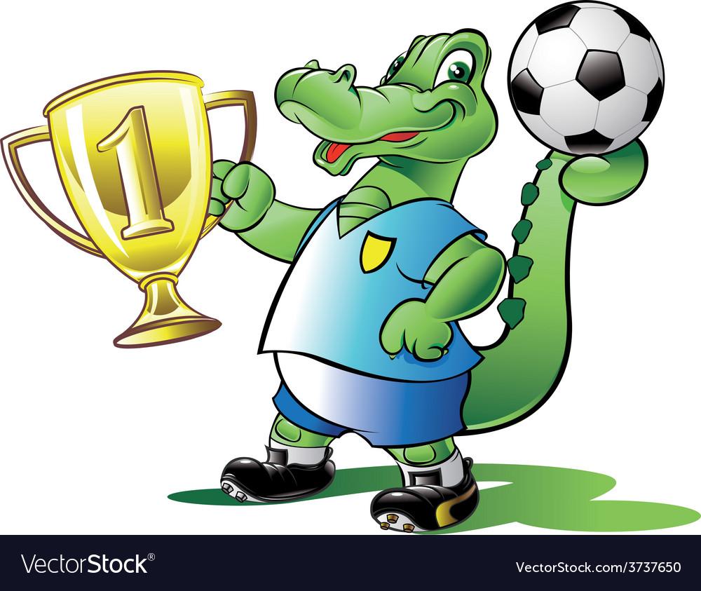Soccer-champion vector | Price: 1 Credit (USD $1)