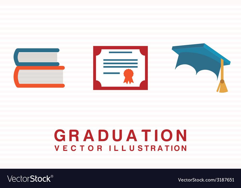 Graduation design vector | Price: 1 Credit (USD $1)