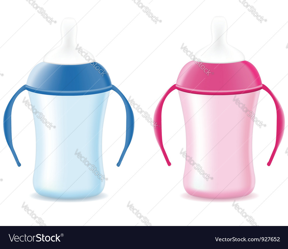Baby bottle feeding vector | Price: 3 Credit (USD $3)