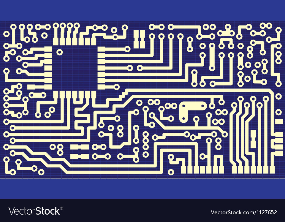 Circuit board card vector | Price: 1 Credit (USD $1)