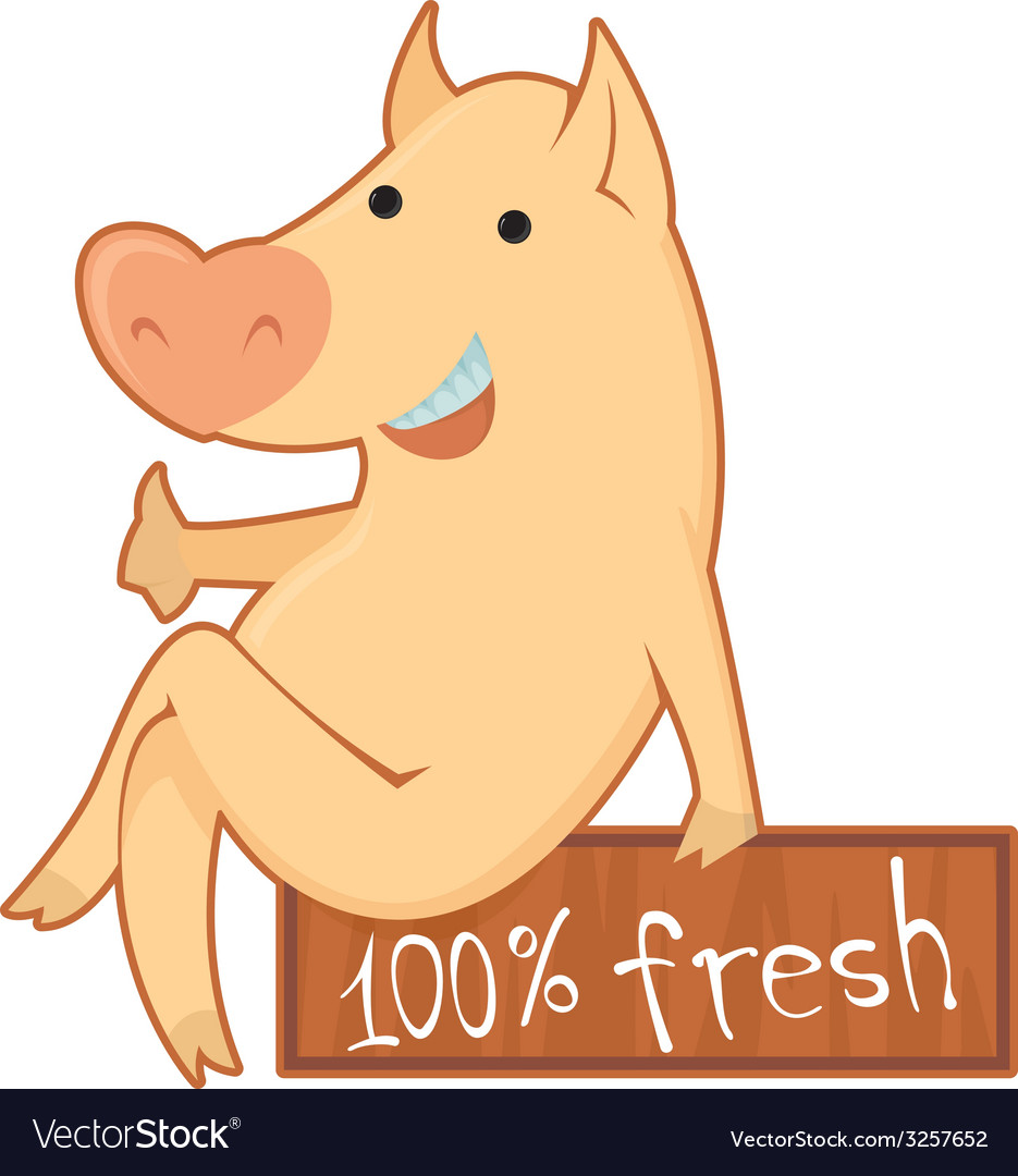 Pork vector | Price: 1 Credit (USD $1)
