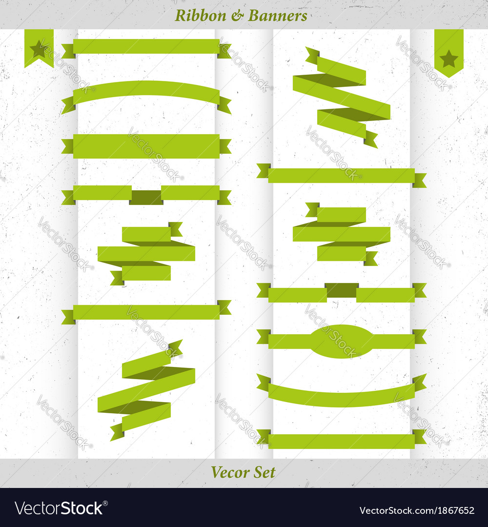 Ribbon and banners vector | Price: 1 Credit (USD $1)