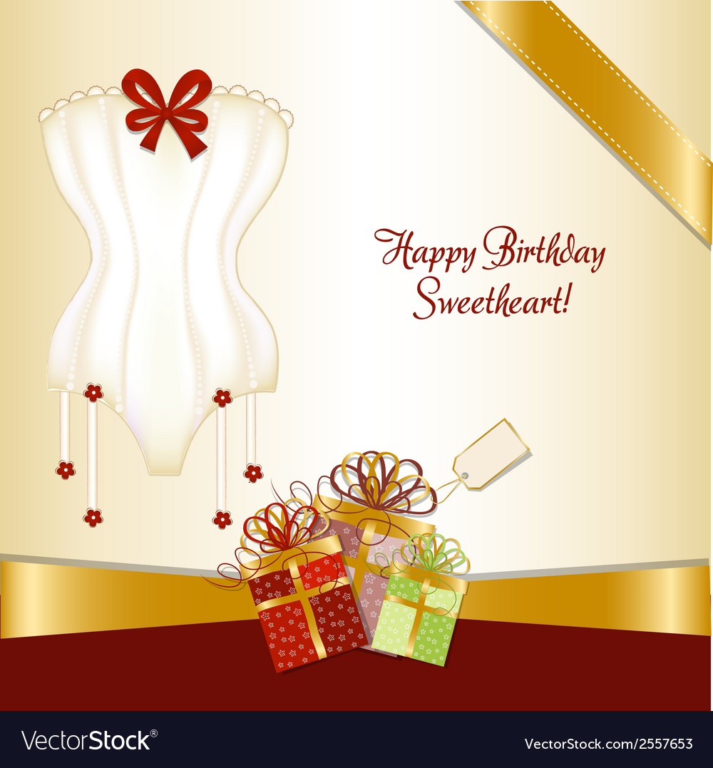Bridal shower greeting card vector   Price: 1 Credit (USD $1)