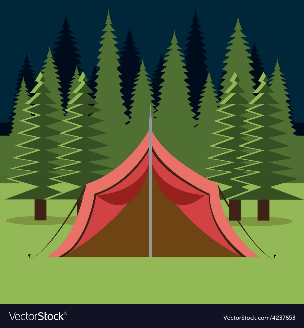 Camping design vector   Price: 1 Credit (USD $1)