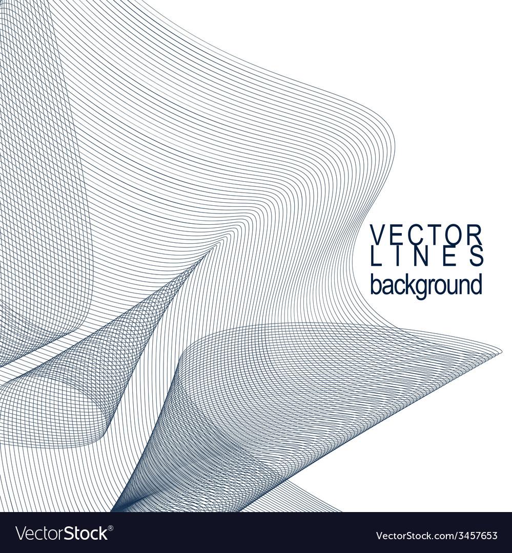 Dimensional motif elegant flowing curves lace vector | Price: 1 Credit (USD $1)